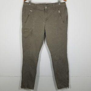 Ralph Lauren Zippers Stretch Jeans Size 14P